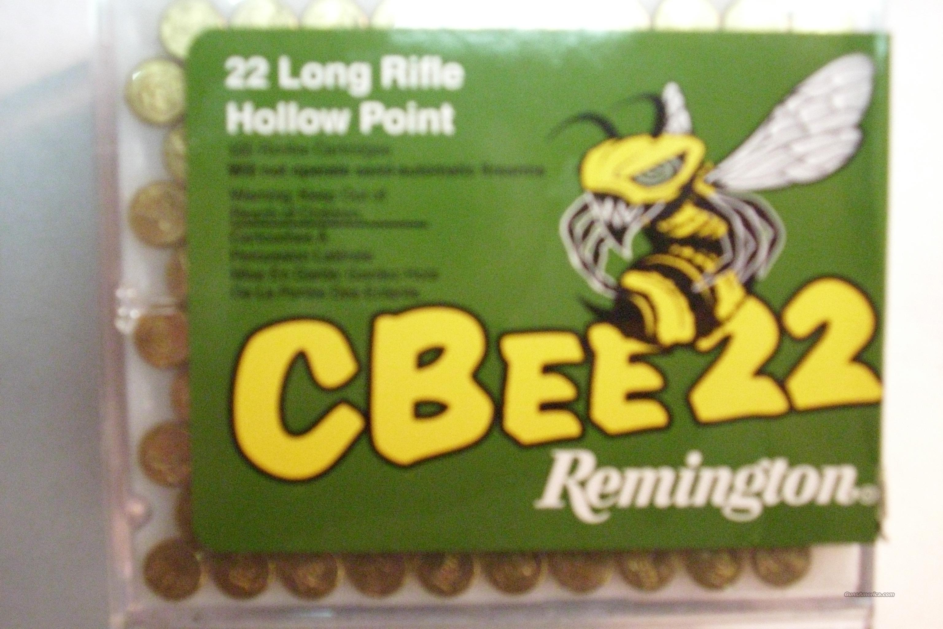 22 ammunition - Remington CBee22 Low Noise 500rounds  Non-Guns > Ammunition