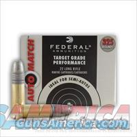 325 rounds ammunition Federal AutoMatch 22 LR  325rd brick  Non-Guns > Ammunition