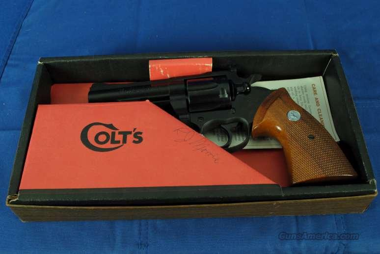 Colt Border Patrol 357 in box #8971  Guns > Pistols > Colt Double Action Revolvers- Modern