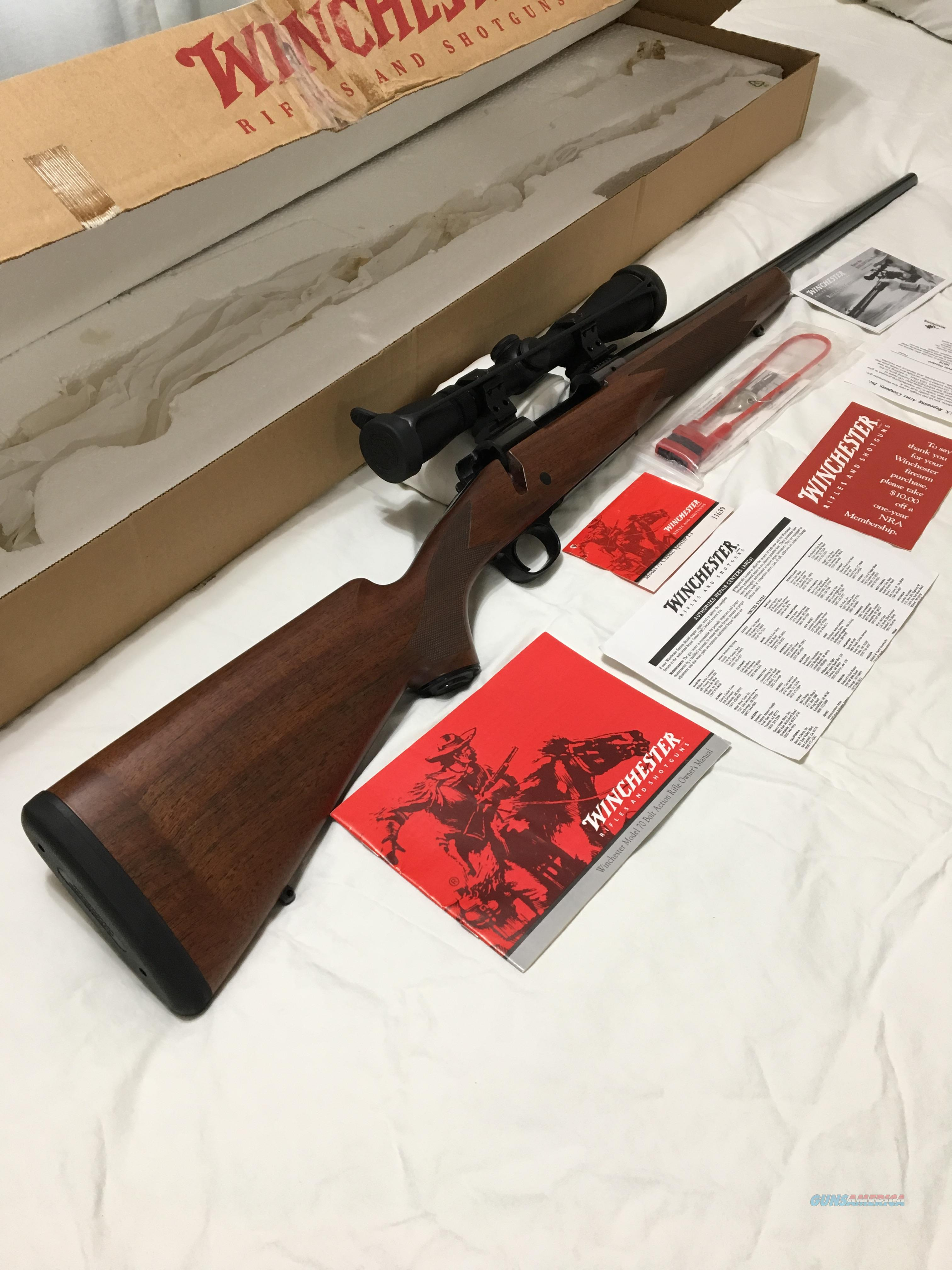 Winchester M70 with CRF Made in New Haven, CT NIB  Guns > Rifles > Winchester Rifles - Modern Bolt/Auto/Single > Model 70 > Post-64