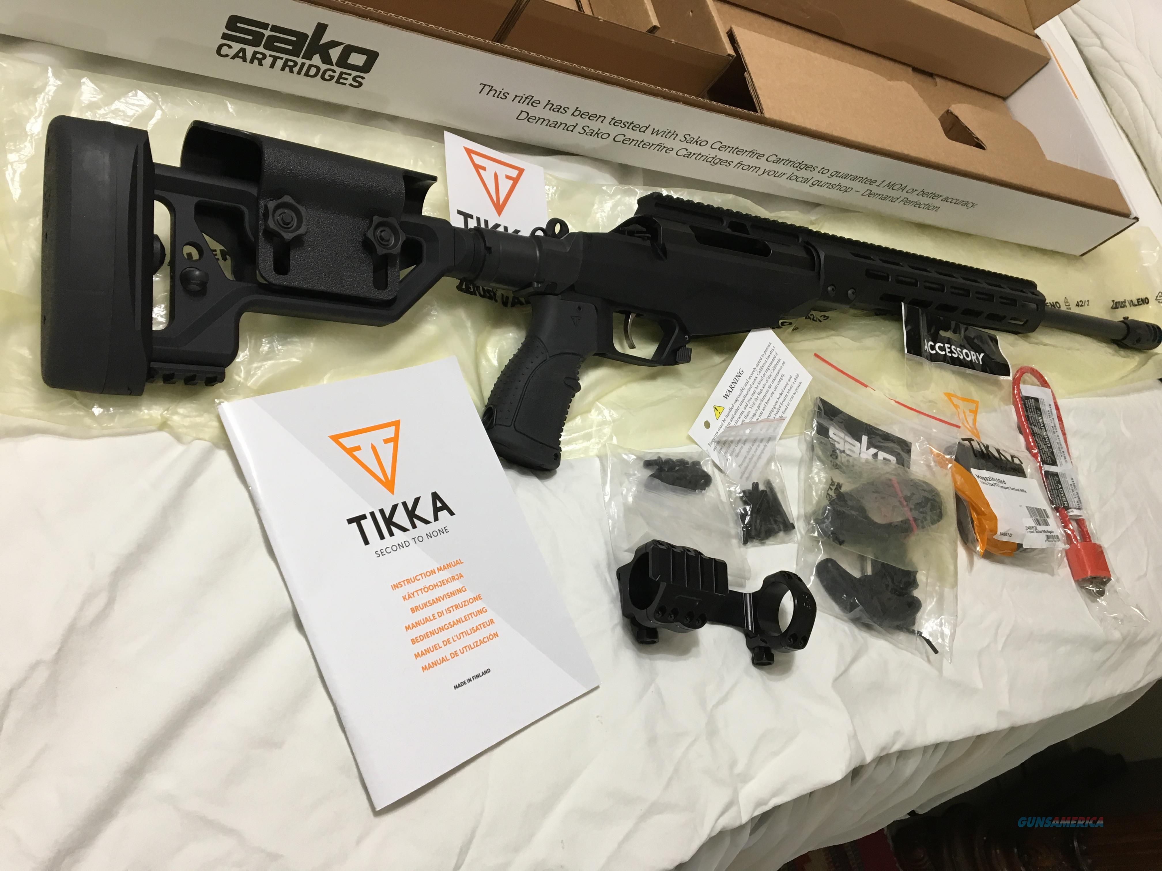 Tikka T3 TAC rifle in 6.5 Credmore.  Guns > Rifles > Tikka Rifles > T3