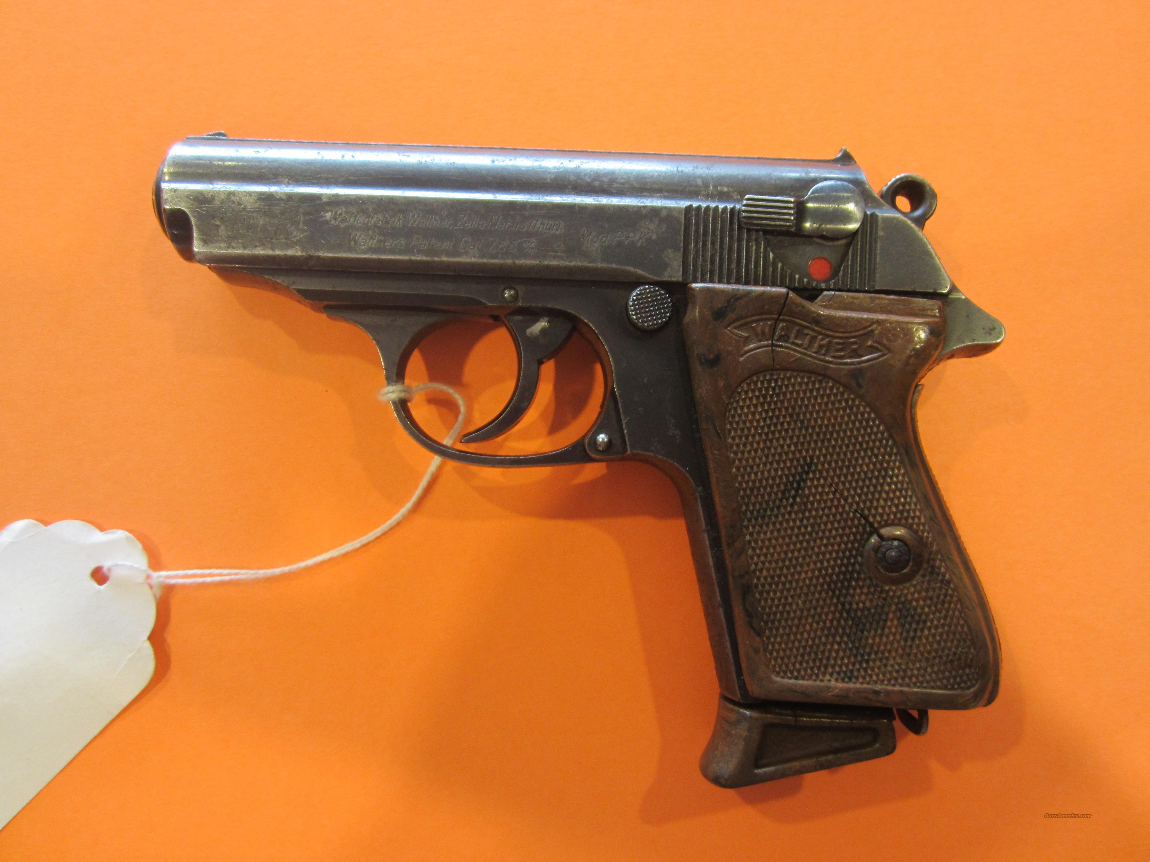 Walther PPK pre war K suffix  Guns > Pistols > Walther Pistols > Pre-1945 > PPK