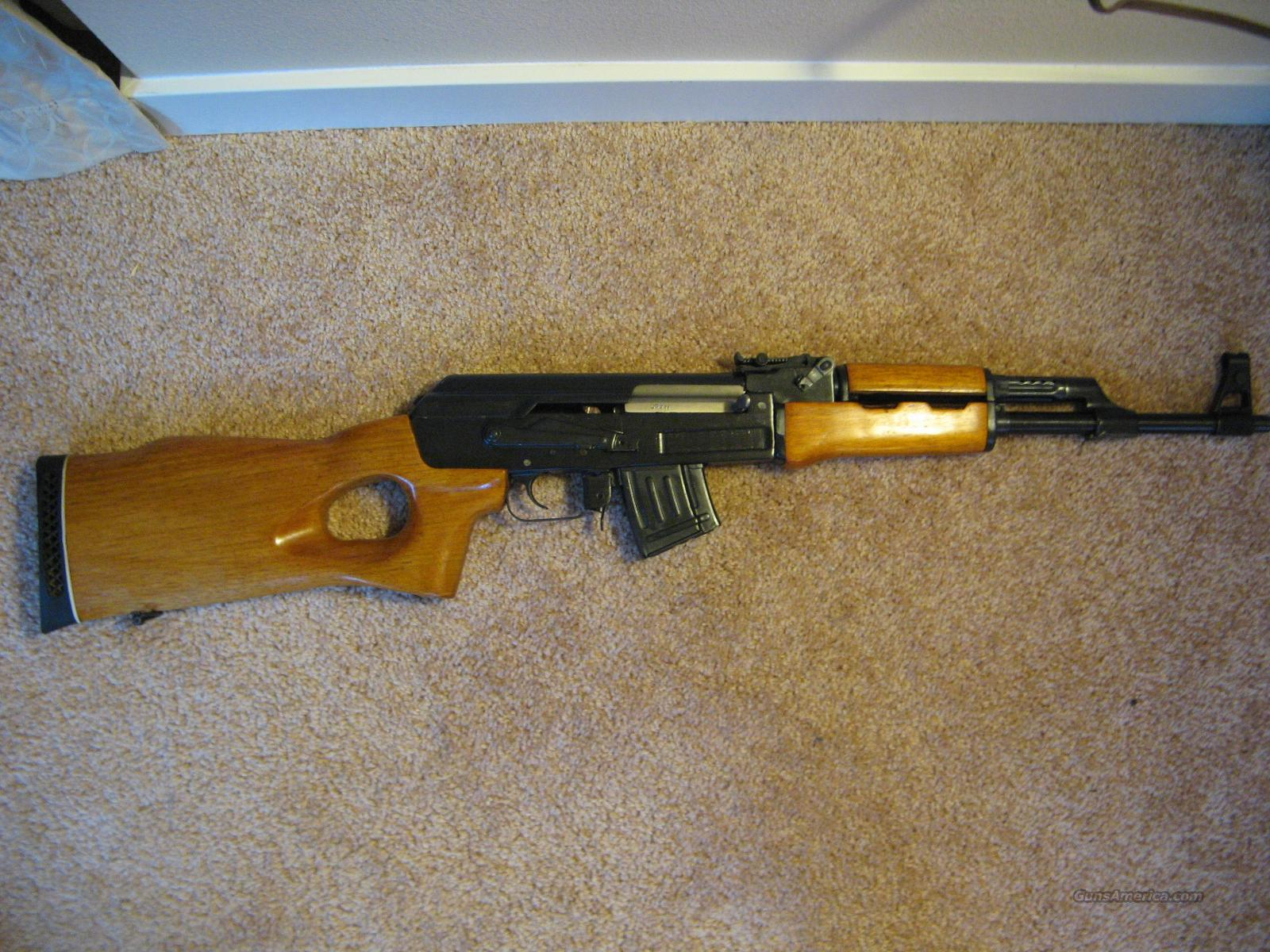 AK-47 (Mak-90 Sporter) Lightly Used +2 steel 30 round clips  Guns > Rifles > AK-47 Rifles (and copies) > Full Stock