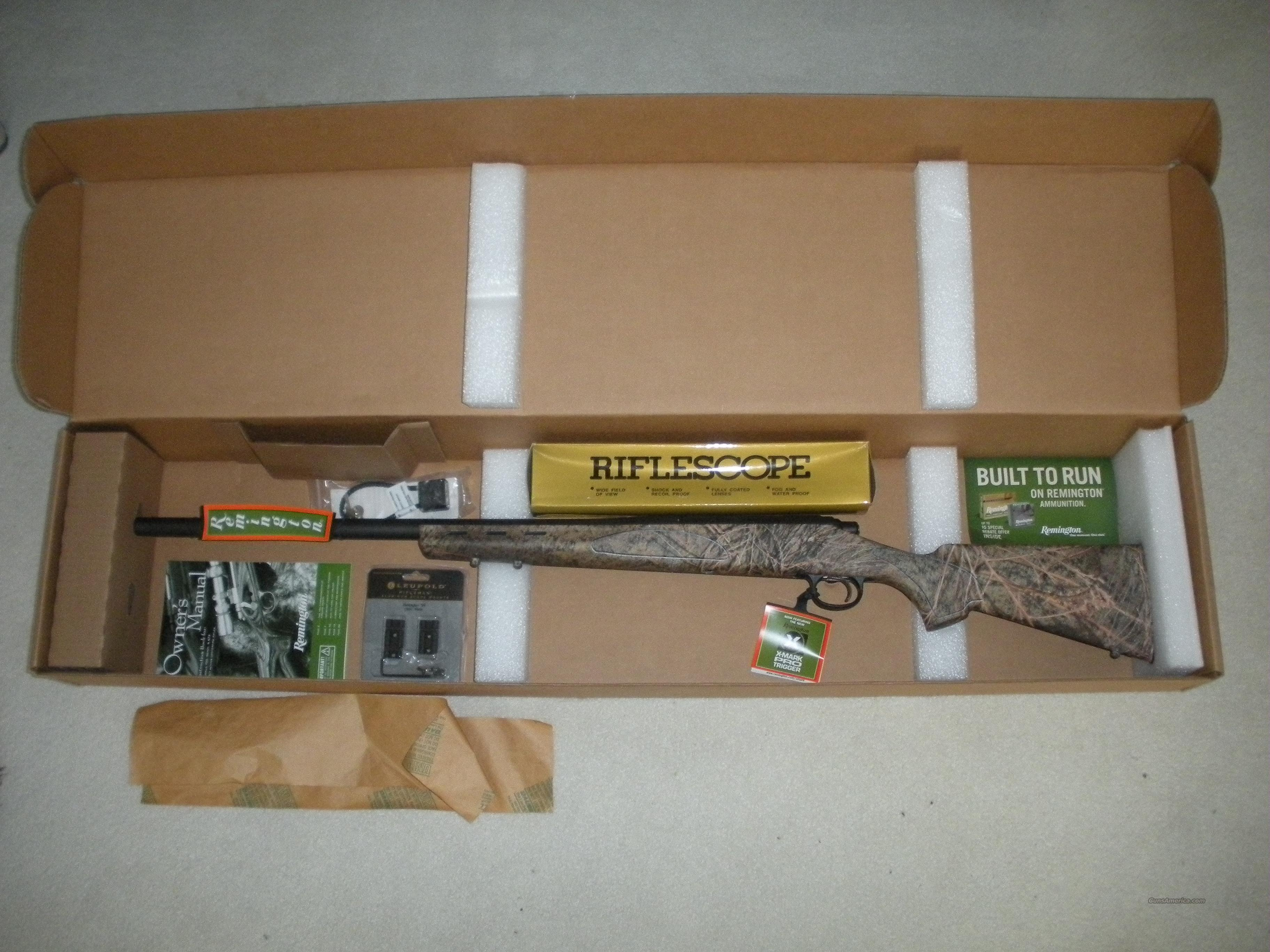 Remington 700 ADL .308 Camo PACKAGE WITH SCOPE  Guns > Rifles > Remington Rifles - Modern > Model 700 > Sporting