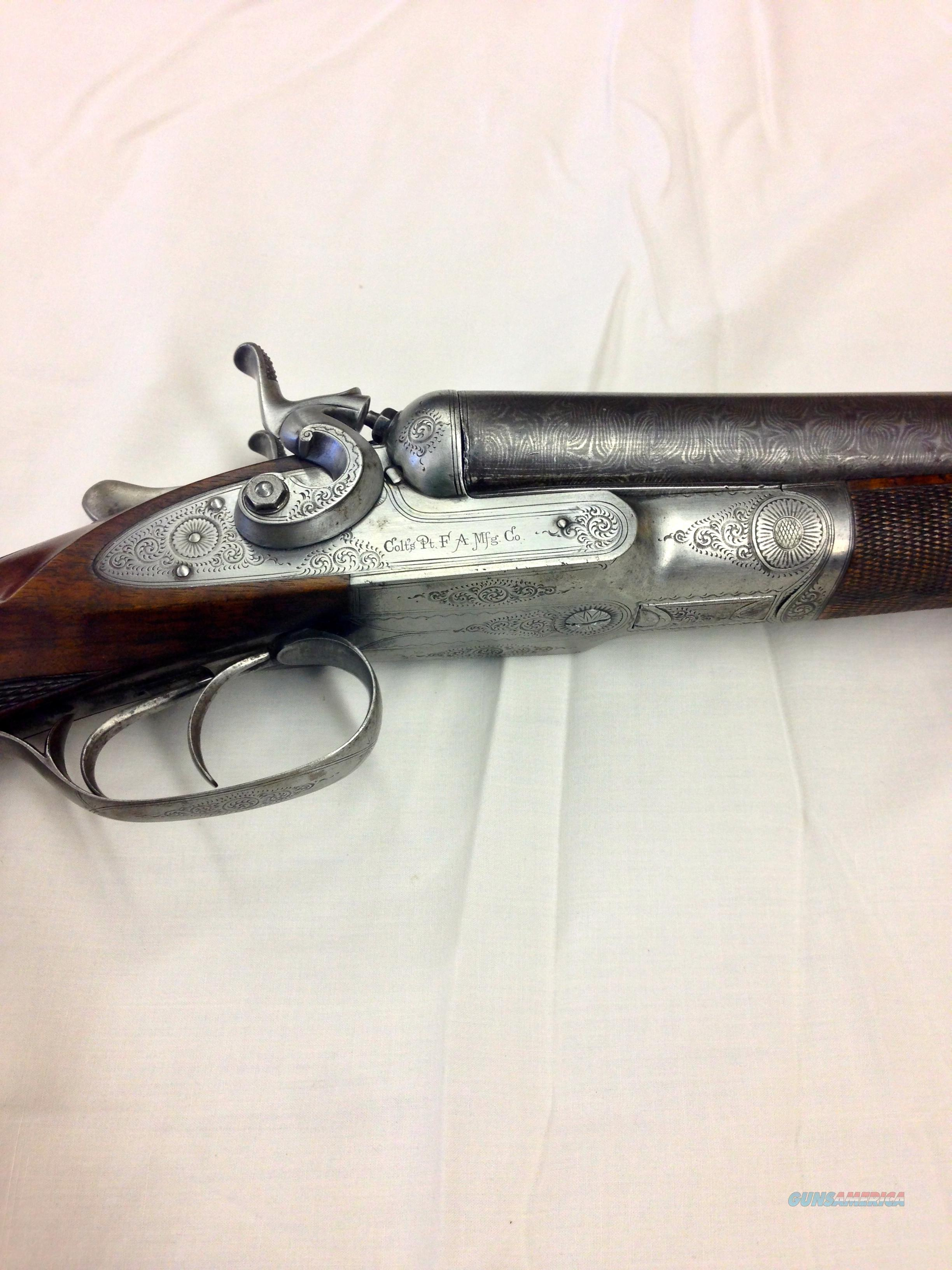 Colt side by side 1878  Guns > Shotguns > Colt Shotguns