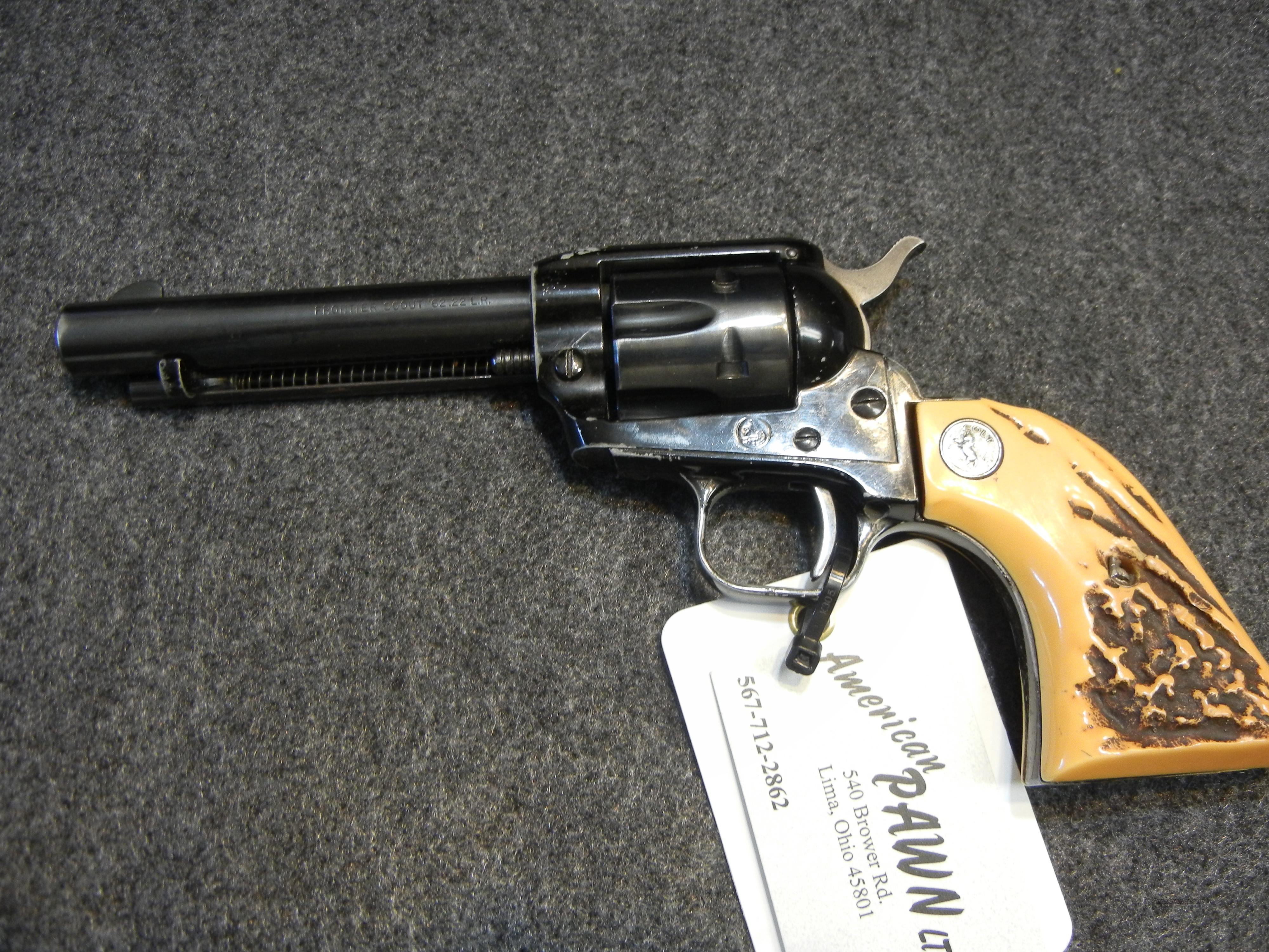 Colt New Frontier .22lr year 1963  Guns > Pistols > Colt Single Action Revolvers - Modern (22 Cal.)