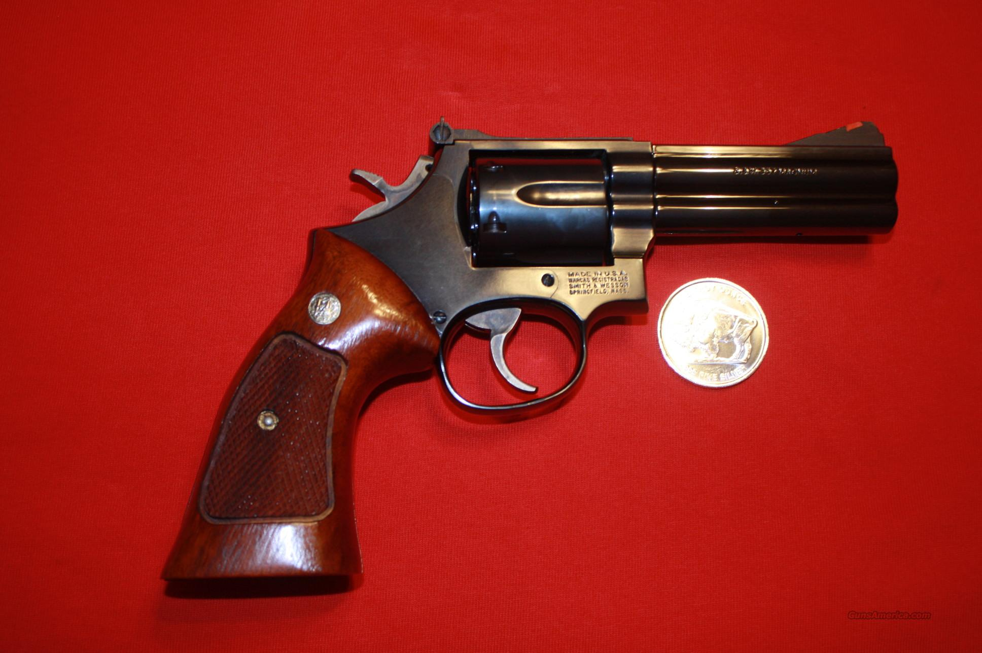SMITH & WESSON MODEL 586-4 .357 MAG  Guns > Pistols > Smith & Wesson Revolvers > Full Frame Revolver