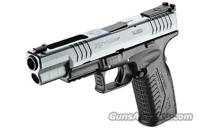 SPRINGFIELD XDM40 COMPETITION SERIES .40 S&W  Guns > Pistols > Springfield Armory Pistols > XD-M