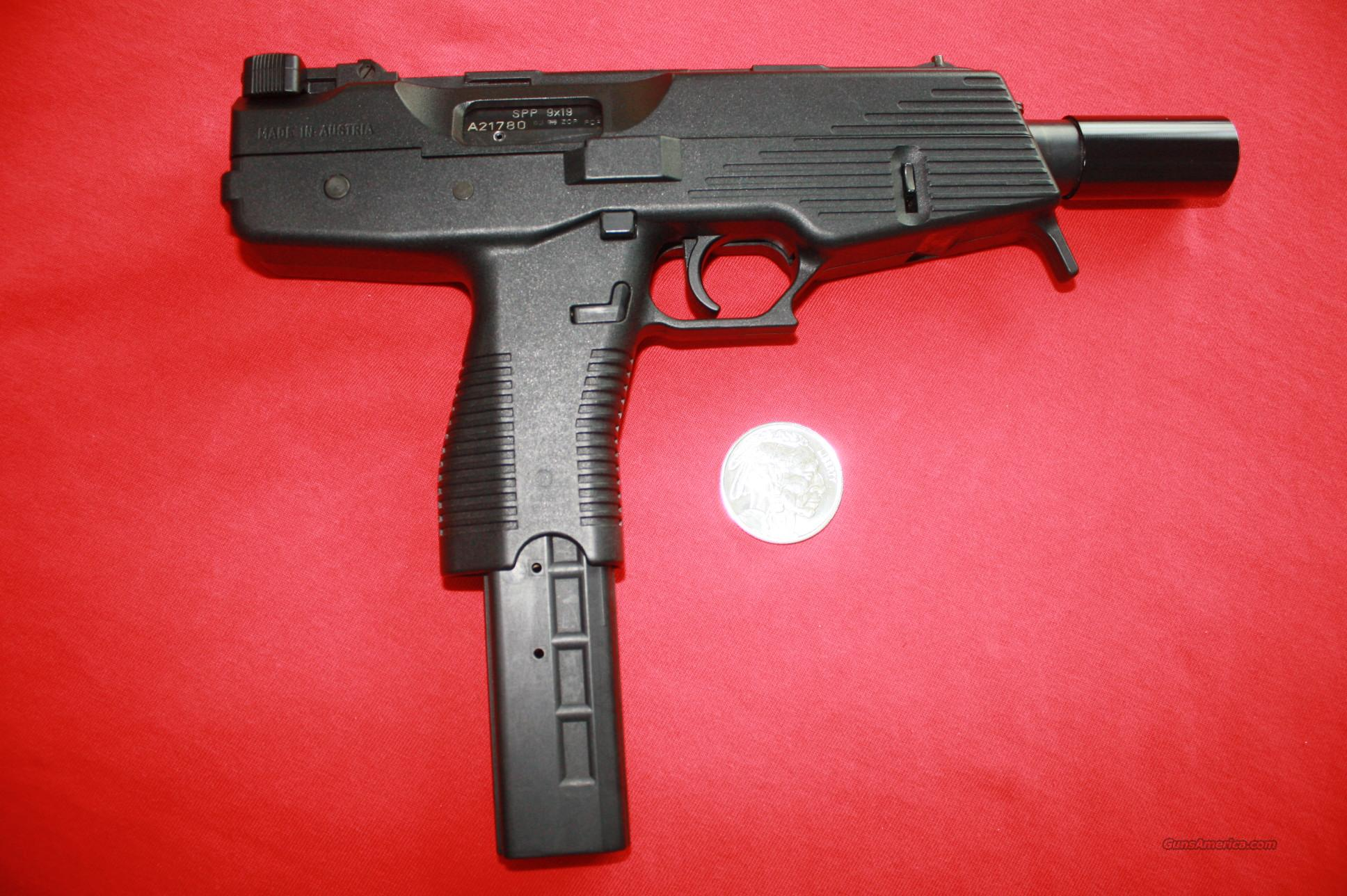 Steyr Mannlicher SPP Assault Pistol in 9mm Luger  Guns > Pistols > Steyr Pistols