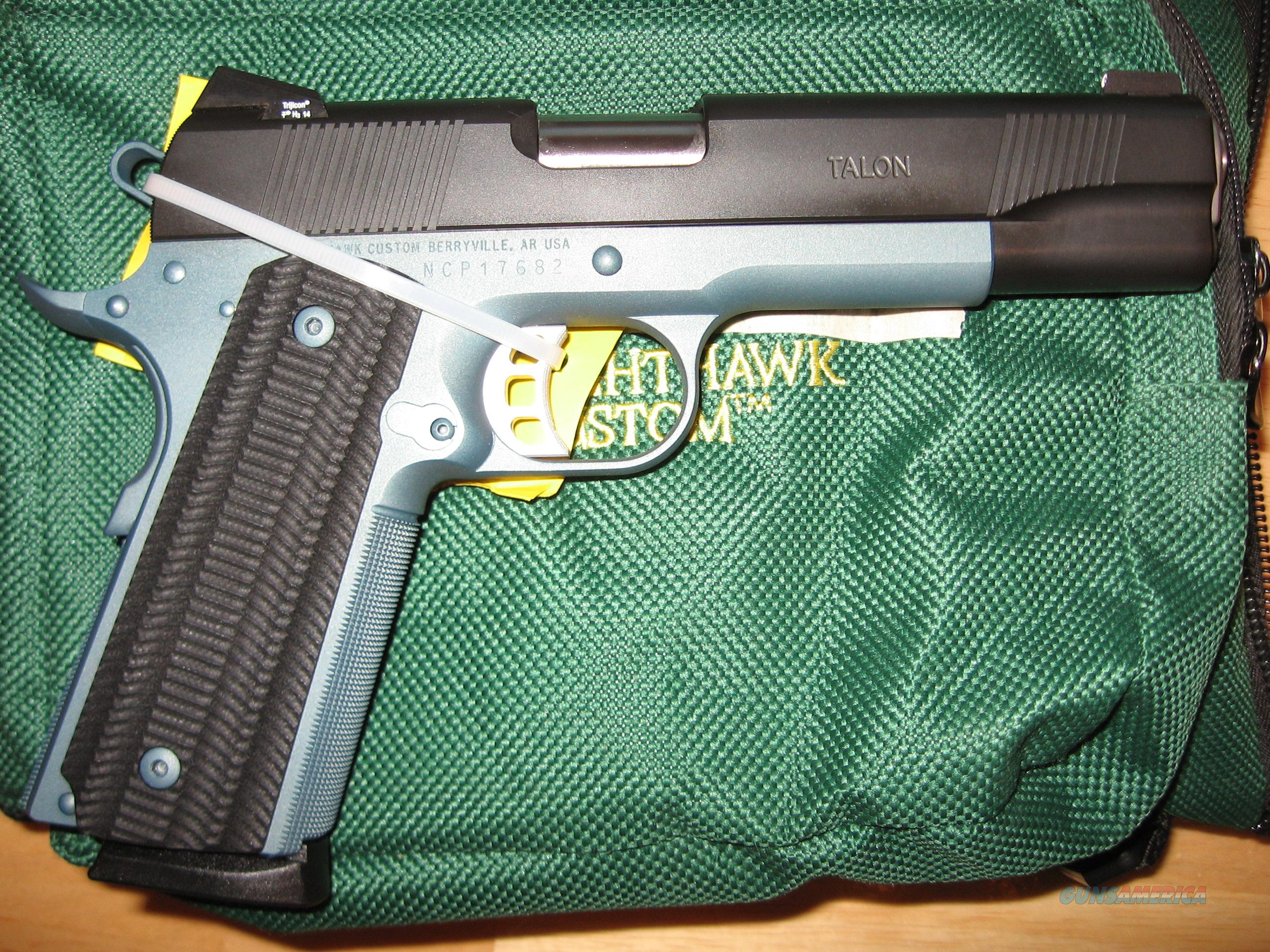 Night Hawk Custom Talon  Guns > Pistols > Nighthawk Pistols