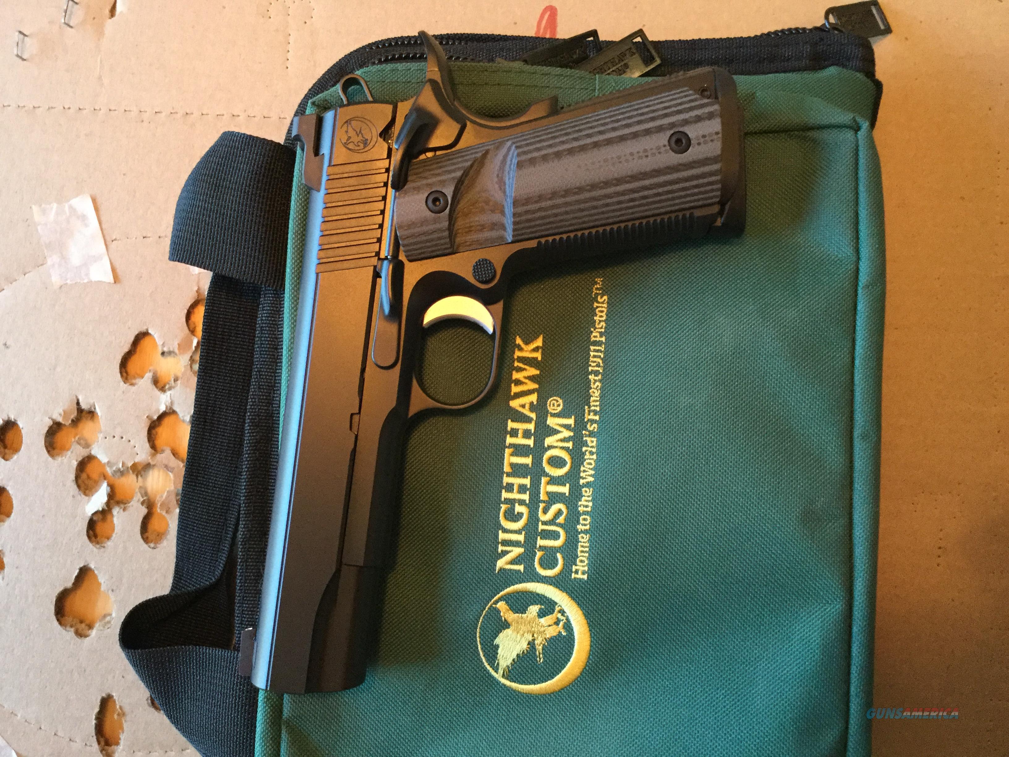Nighthawk custom BULL Govt 45  Guns > Pistols > Nighthawk Pistols