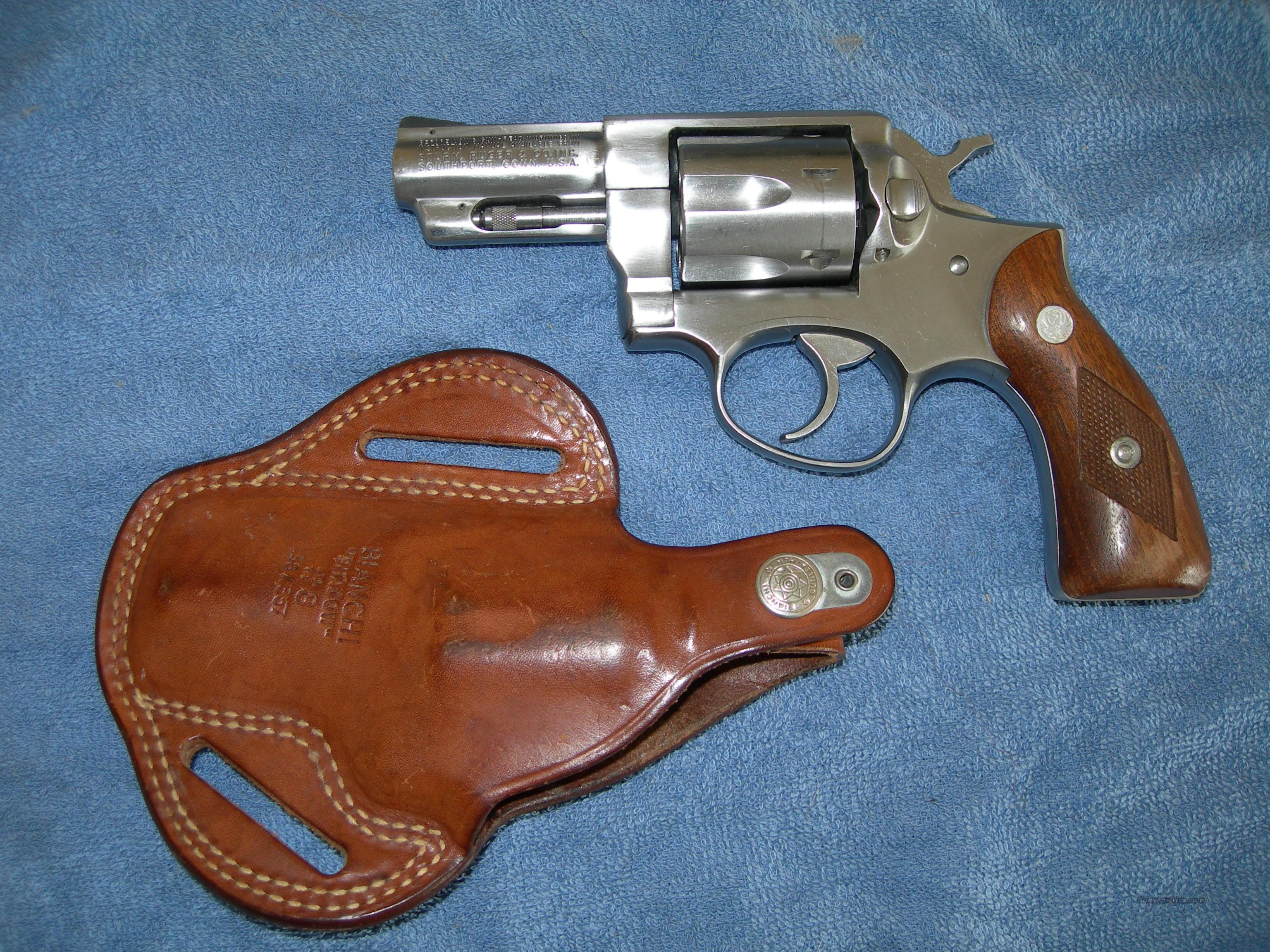 Nice Ruger Stainless Speed-Six .357 Kit, Bianchi Shadow Included  Guns > Pistols > Ruger Double Action Revolver > Security Six Type