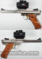 Ruger MKII Competition Target -- 22lr 6 7/8 Stainless Pistol W/ ProPoint  Guns > Pistols > Ruger Semi-Auto Pistols > Mark I & II Family