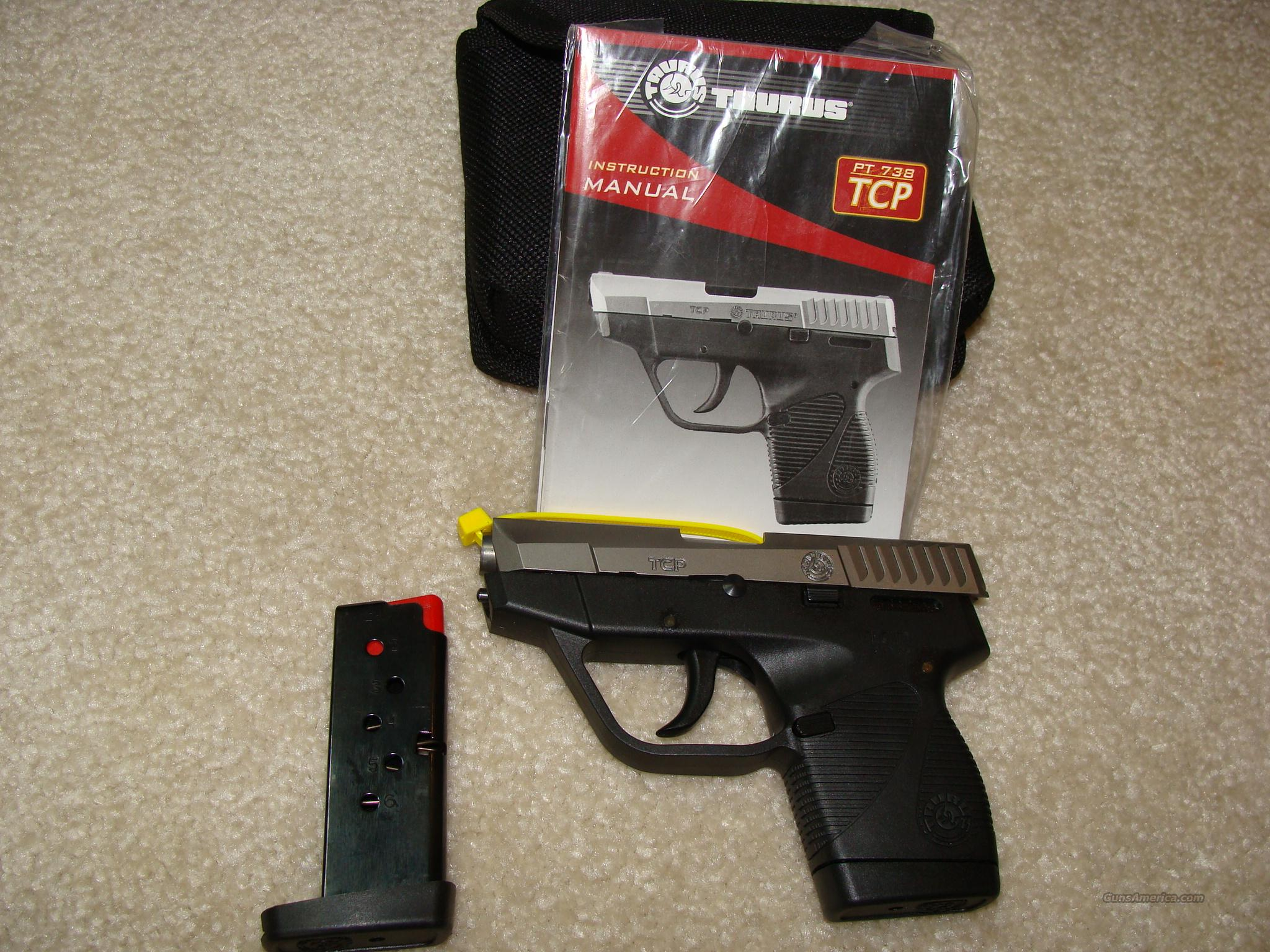 Taurus 738TCP 380 SS New with Davidsons Warranty  Guns > Pistols > Taurus Pistols/Revolvers > Pistols > Polymer Frame