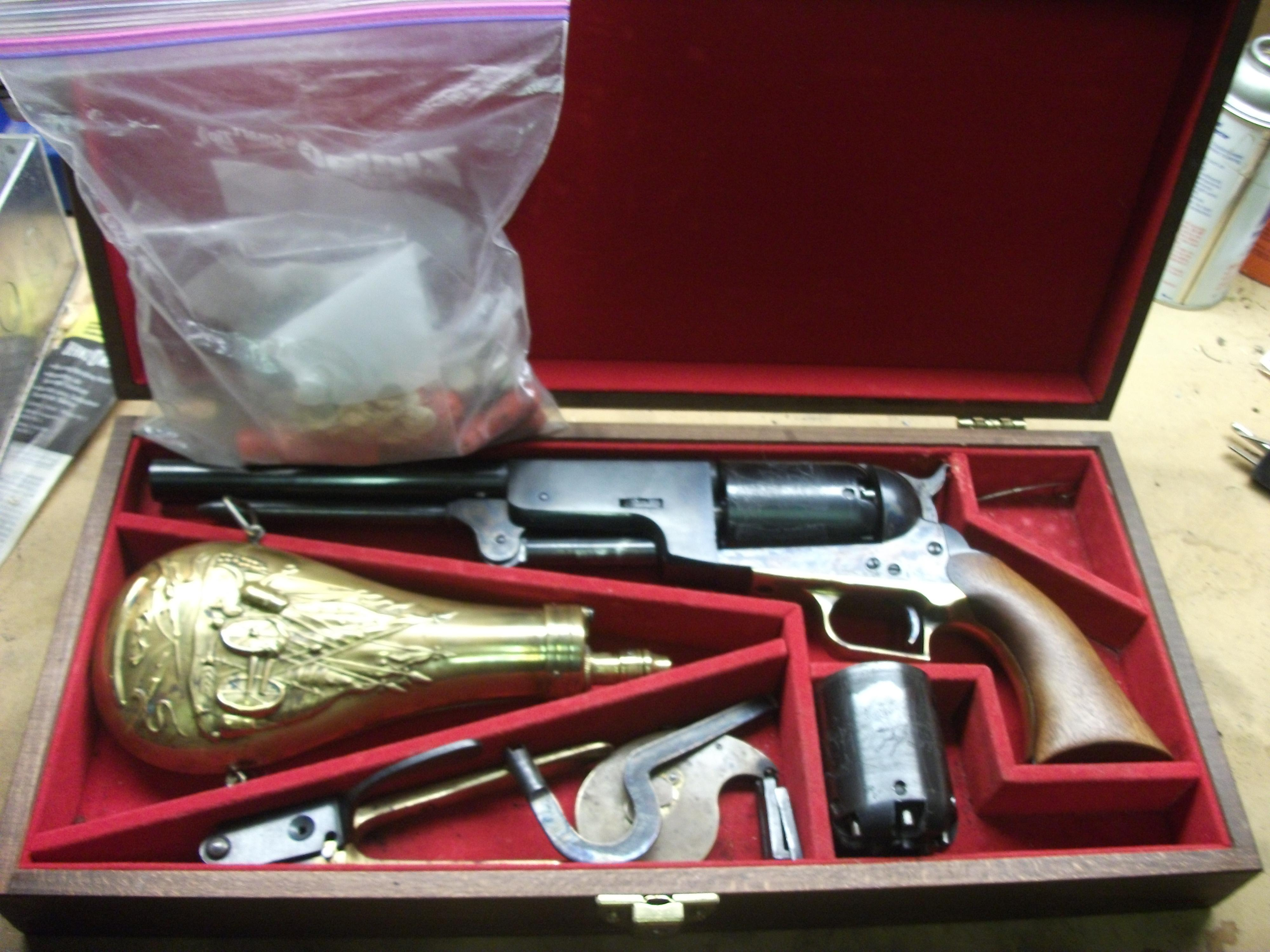 COLT WALKER KIT   Non-Guns > Black Powder Muzzleloading