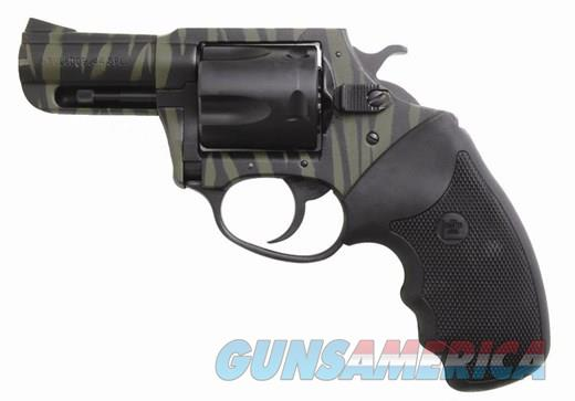 "CHARTER ARMS BULLDOG ""TIGER"" .44 SPECIAL - GREEN/BLACK STRIPE  Guns > Pistols > Charter Arms Revolvers"