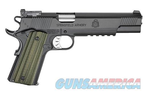 "SPRINGFIELD ARMORY TRP OPERATOR BLACK 10MM - LONG SLIDE 6"" BL - NIGHT SIGHTS - UPC: 706397919542   Guns > Pistols > Springfield Armory Pistols > 1911 Type"
