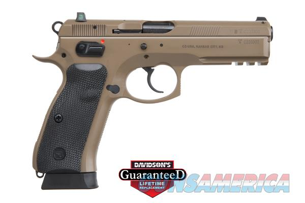 (2) CZ SP-O1 TACTICAL - CONSECUTIVE SERIAL #S *** N.I.B.*** FDE - TRITIUM NIGHT SIGHTS - 9mm - 18+1  - SKU 91262   Guns > Pistols > CZ Pistols