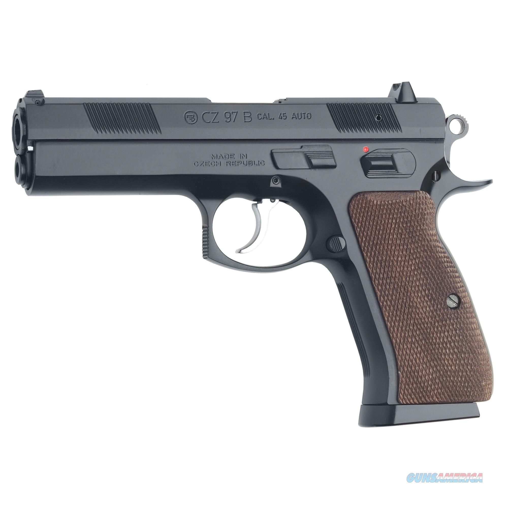 """CZ 97B  Semi-automatic, DA/SA - California Compliant - Full Size, 45 ACP, 4.5""""   Guns > Pistols > CZ Pistols"""