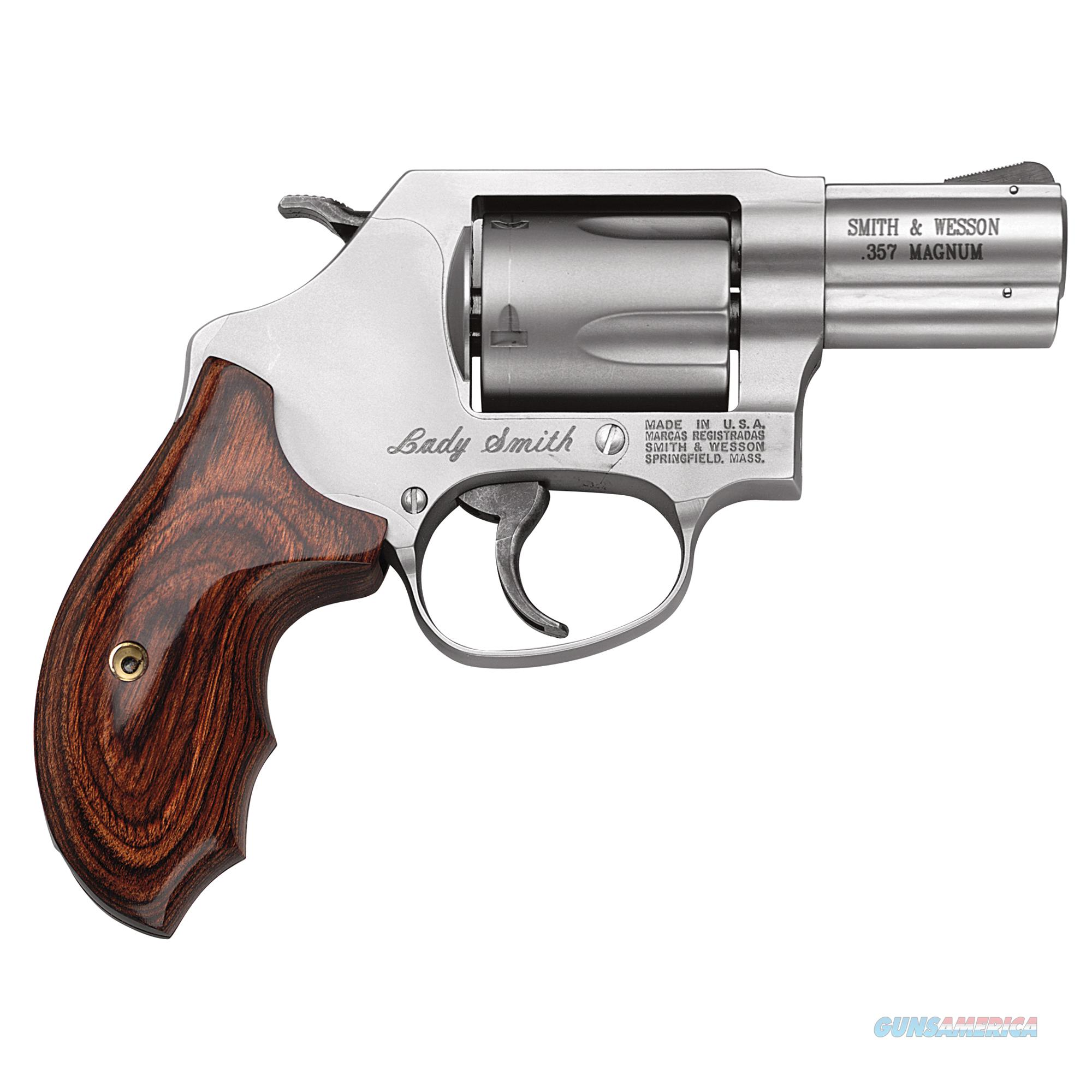 S&W MODEL 60 LADYSMITH - 357MAGNUM /38Spl + P MODEL 162414  Guns > Pistols > Smith & Wesson Revolvers > Pocket Pistols
