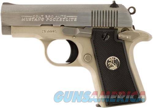 COLT MUSTANG POCKETLITE - .380 ACP - 1911 STYLE - SINGLE ACTION - N.I.B.  Guns > Pistols > Colt Automatic Pistols (1911 & Var)