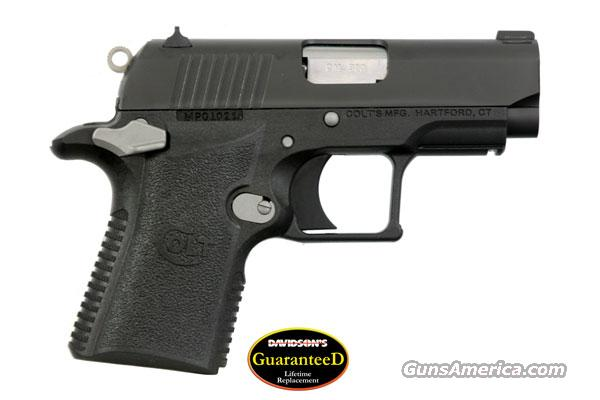 "COLT MUSTANG XSP 380 PISTOL ""CONCEAL & CARRY"" - ON SALE -   Guns > Pistols > Colt Automatic Pistols (.25, .32, & .380 cal)"