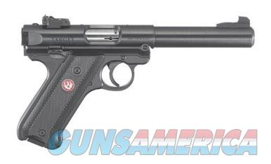 RUGER MARK IV TARGET 22 LR -  BULL BBL | (2) MAGS - NEW IN BOX - MDL #: 40101  Guns > Pistols > Ruger Semi-Auto Pistols > Mark I/II/III/IV Family