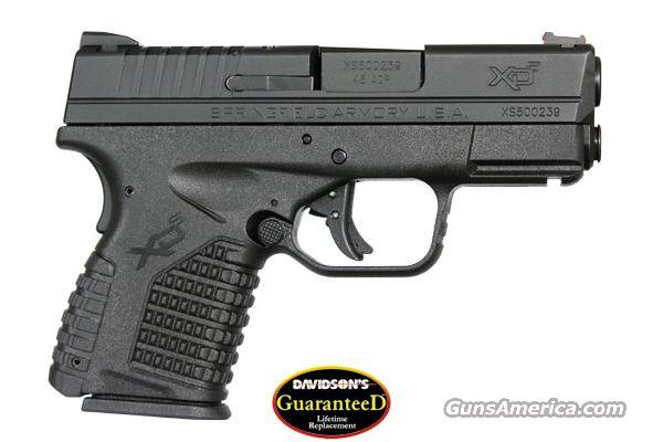 "SPRINGFIELD XDS 45ACP 3.3"" BLK - 3 MAGS- 1 7RD W/EXTENSION   Guns > Pistols > Springfield Armory Pistols > XD-S"