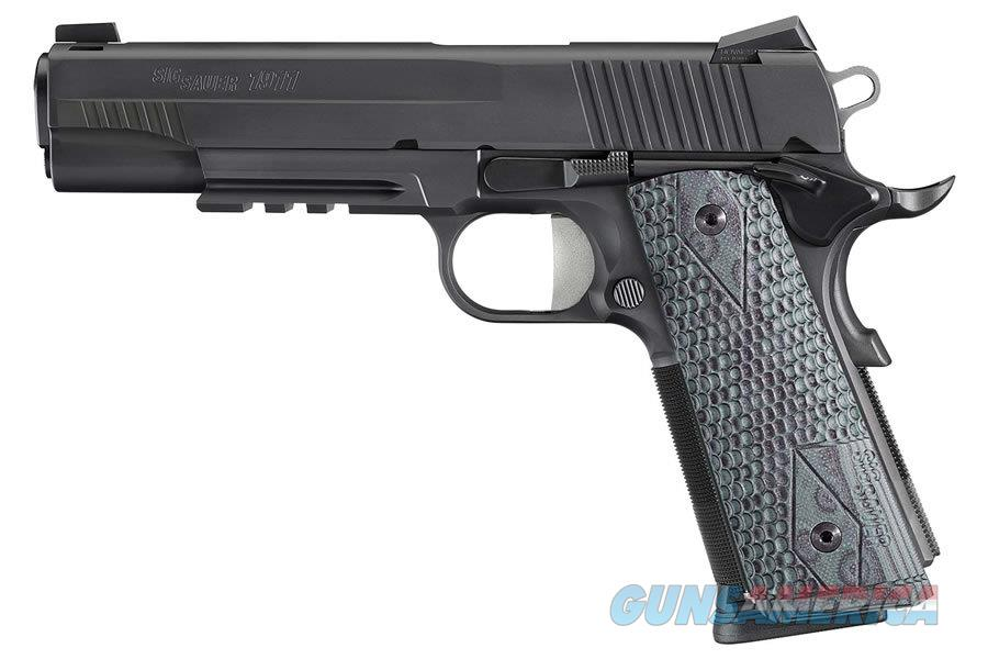 SIG 1911R EXTREME - BLK/GRY - NITRON RAIL - .45 ACP - N.I.B.   Guns > Pistols > Sig - Sauer/Sigarms Pistols > 1911