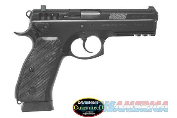CZ-USA CZ 75 SP-01 TACTICAL 9MM - 18+1 -MODEL # 91153 - Fixed Night Sights - Double / Single Action  Guns > Pistols > CZ Pistols