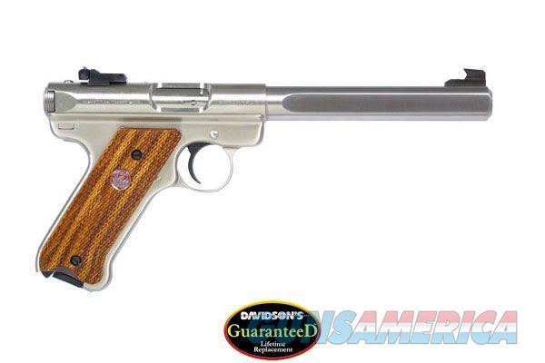 RUGER MKIII COMPETITON 22 SEMI-AUTO PISTOL  - MODEL KMKIII678GC  - STAINLESS STEEL -   Guns > Pistols > Ruger Semi-Auto Pistols > Mark I/II/III/IV Family