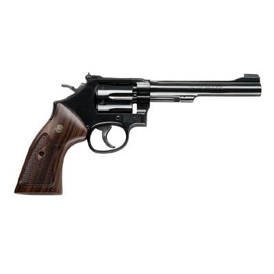 "CLASSIC S&W MODEL 48  - .22 MAGNUM 6"" BARREL - WOOD GRIPS ""NEW IN BOX"" MOST SOUGHT AFTER  Guns > Pistols > Smith & Wesson Revolvers > Full Frame Revolver"