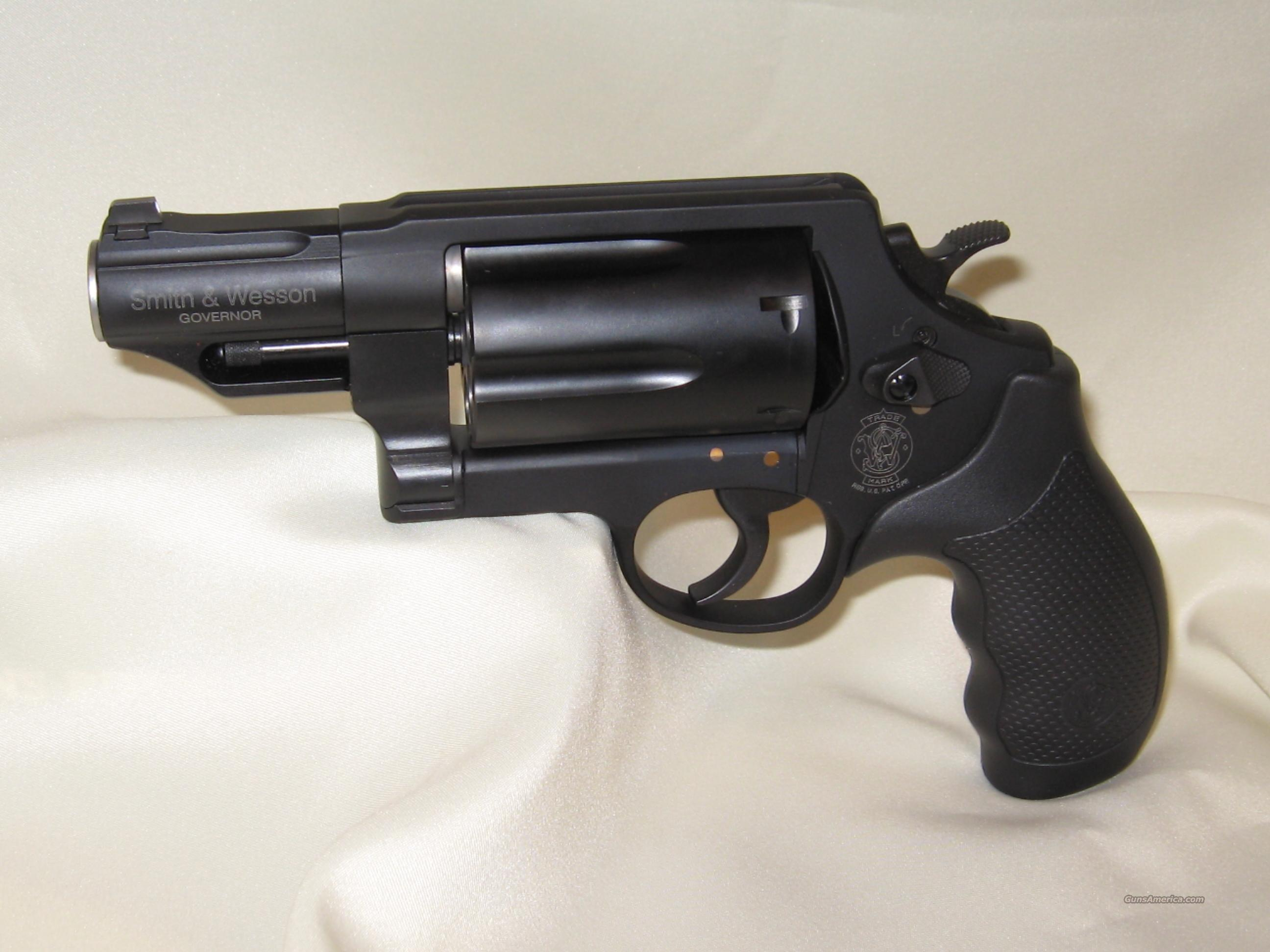 S & W GOVERNOR 45LC 410 45 AP B  Guns > Pistols > Smith & Wesson Revolvers > Full Frame Revolver