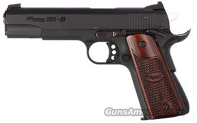 "SIG 1911 22LR 5"" 10RD BLACK FS ROSEWOOD ""N E W "" COMES WITH (3) THREE MAGAZINES   Guns > Pistols > Sig - Sauer/Sigarms Pistols > 1911"