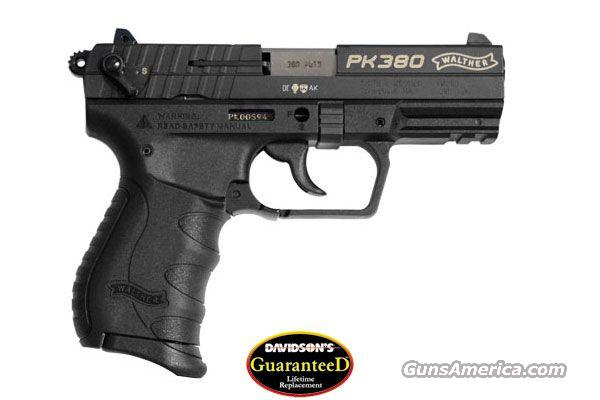 WALTHER PK380 DA 380 8RD - WITH 3 - 8 ROUND MAGS  Guns > Pistols > Walther Pistols > Post WWII > PK380