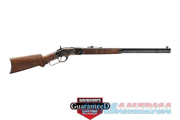 WINCHESTER MODEL 1873 SPORTER RIFLE - OCTAGON BARREL - GRADE II/III WALNUT -  CASE HARDENED .357 MAG.  Guns > Rifles > Winchester Rifles - Modern Lever > Other Lever > Post-64