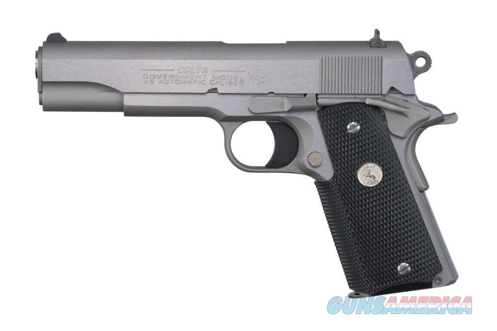 No Credit Check Auto Sales >> COLT GOVT MODEL1991 1911 STAINLESS STEEL COMMAN... for sale