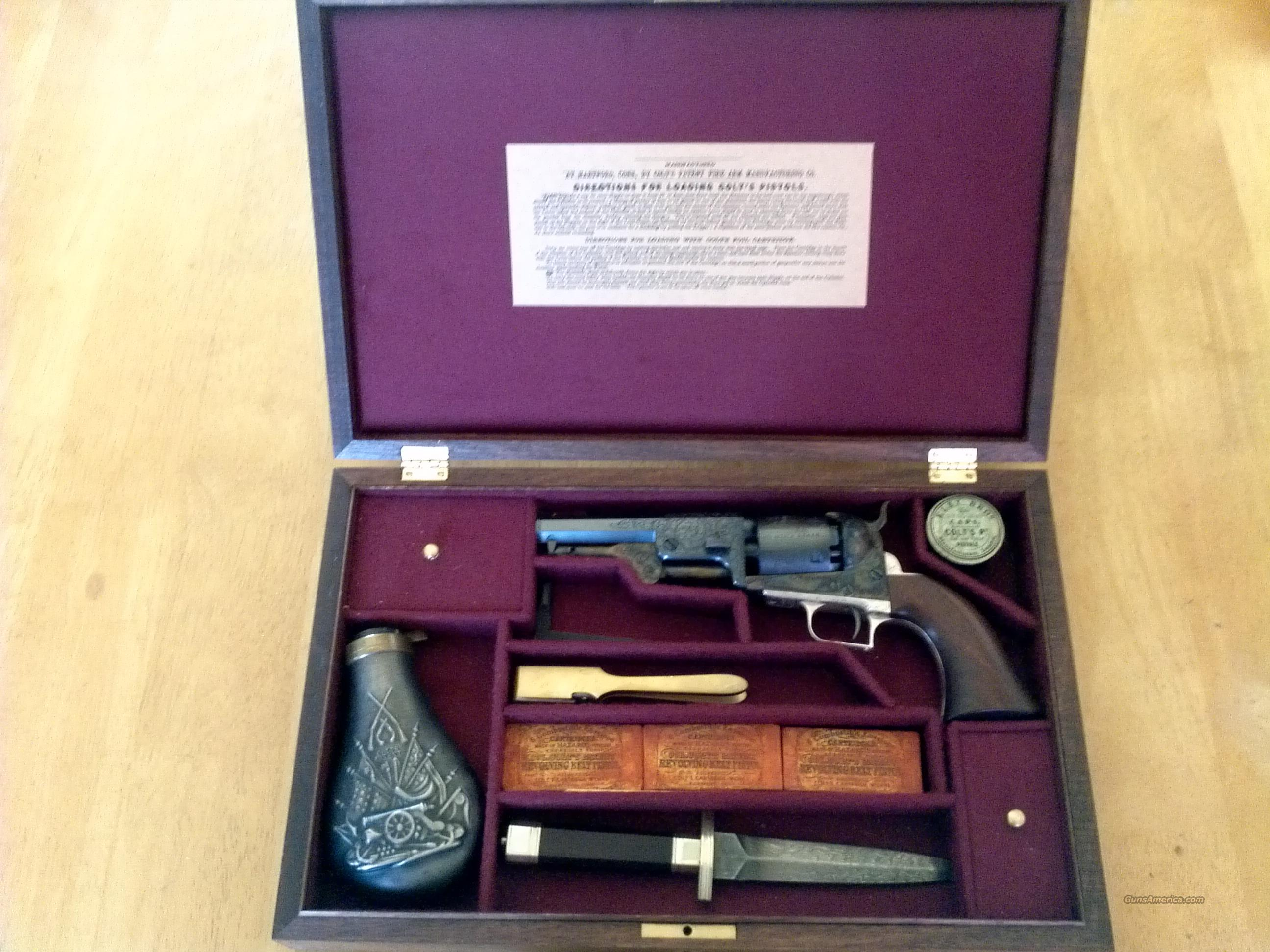 D engraved C series COLT 51 Navy - Cased  Guns > Pistols > Colt Percussion Revolver - Modern