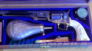 Master Engraved C-series Colt  Guns > Pistols > Colt Percussion Revolver - Modern