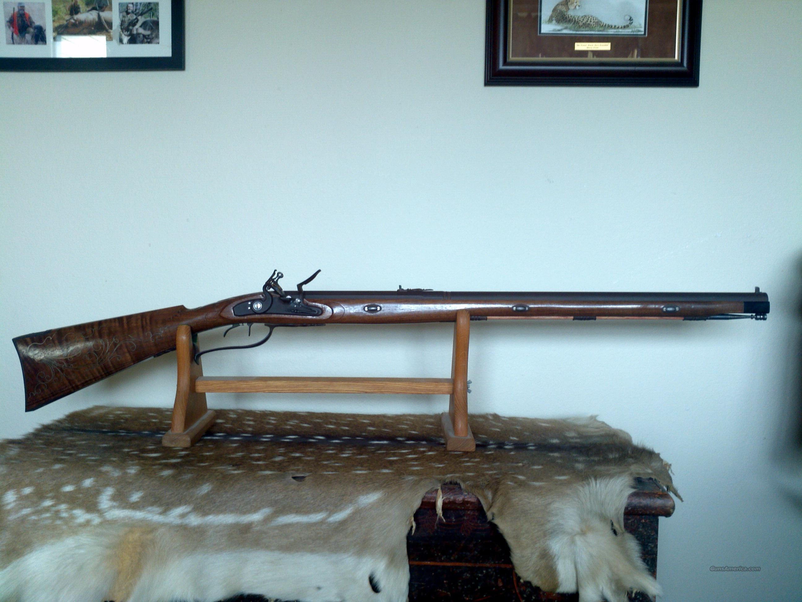 custom Germanic style Jaeger   Guns > Rifles > Custom Muzzleloader Rifles > Flintlock