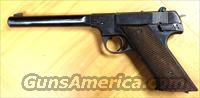Hi-Standard H-D Military .22 long rifle pistol from 1947  Guns > Pistols > High Standard Pistols