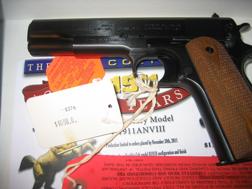 Colt Anniversary III early production   Guns > Pistols > Colt Commemorative Pistols