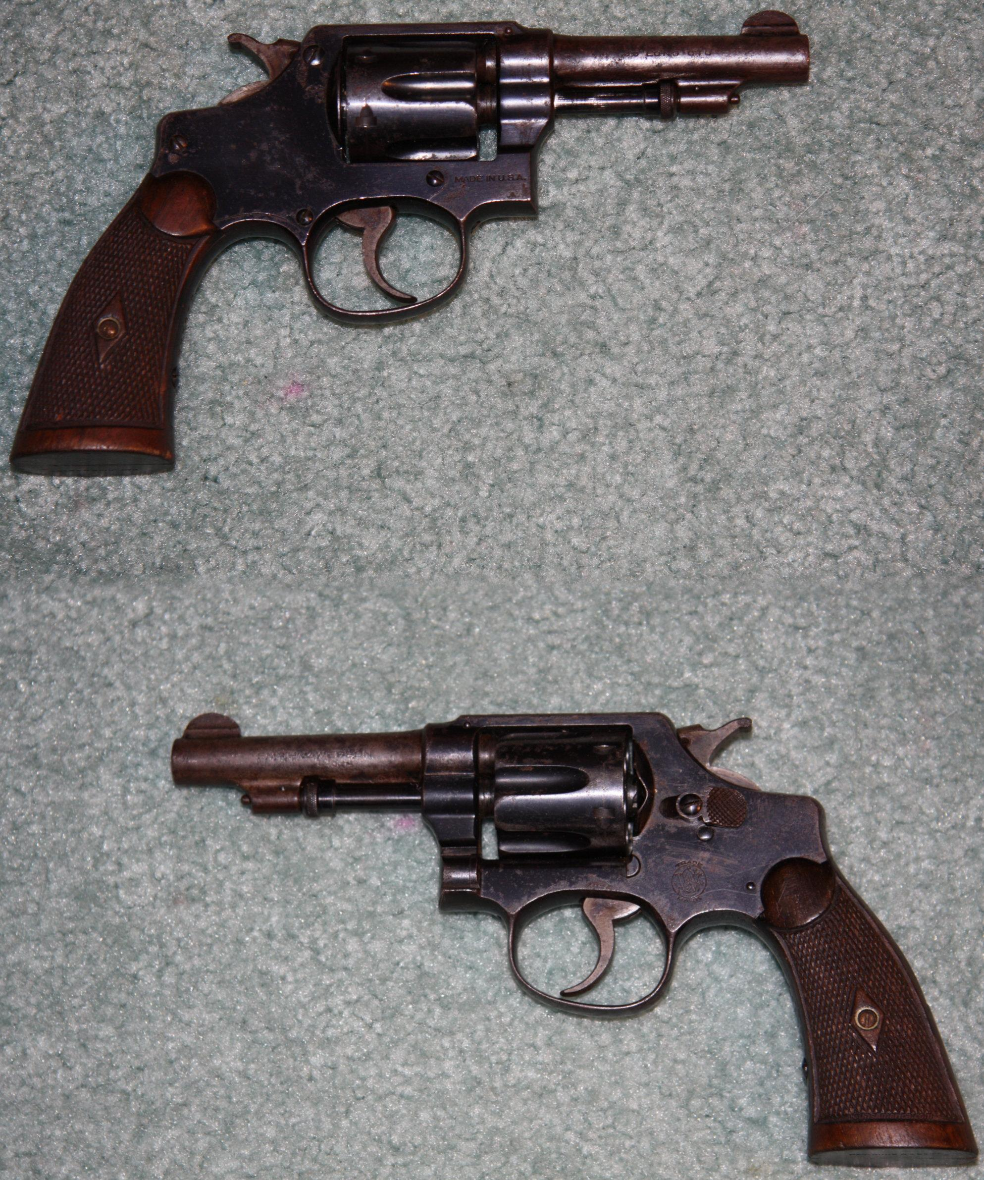 "S&W Hand Ejector 32S&W Long 3 1/4"" Barrel    Guns > Pistols > Smith & Wesson Revolvers > Pre-1945"