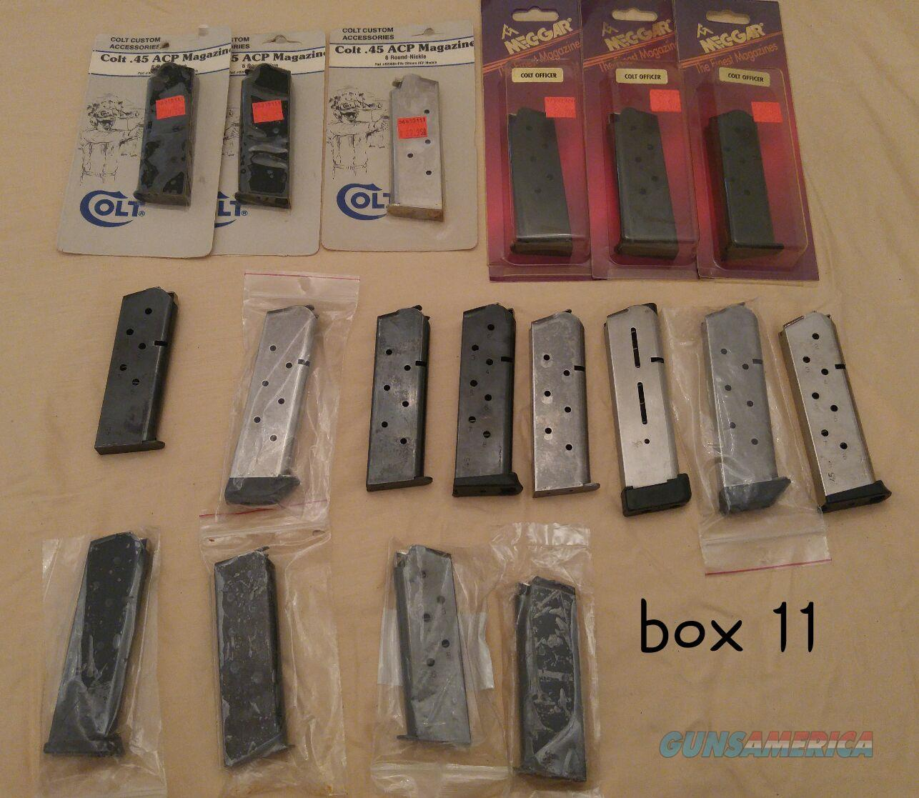 Colt and other 1911 magazines  18 total   Non-Guns > Magazines & Clips > Pistol Magazines > 1911