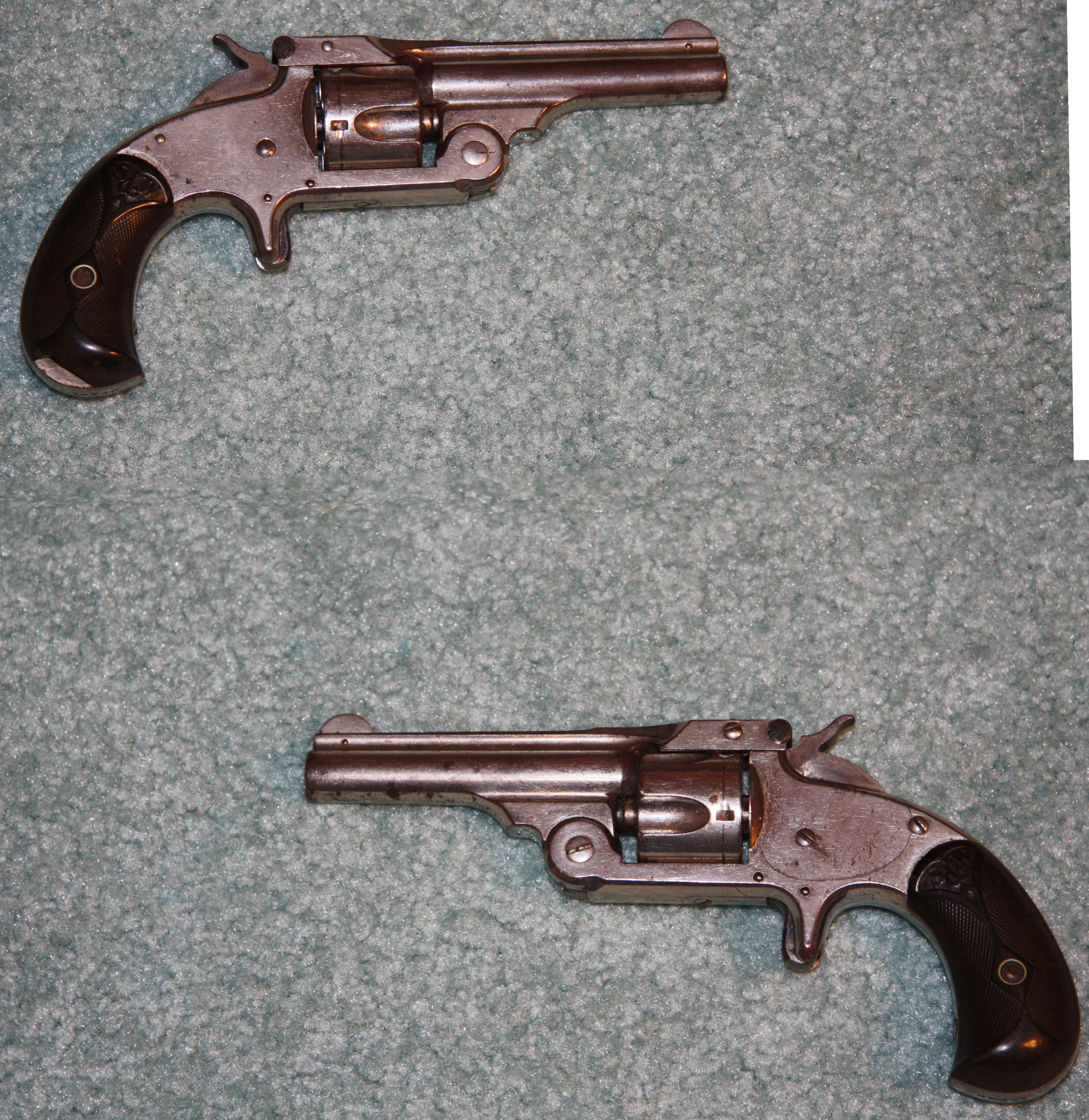 S&W .32 Single Action (Model 1 1/2)  Guns > Pistols > Smith & Wesson Revolvers > Pre-1899