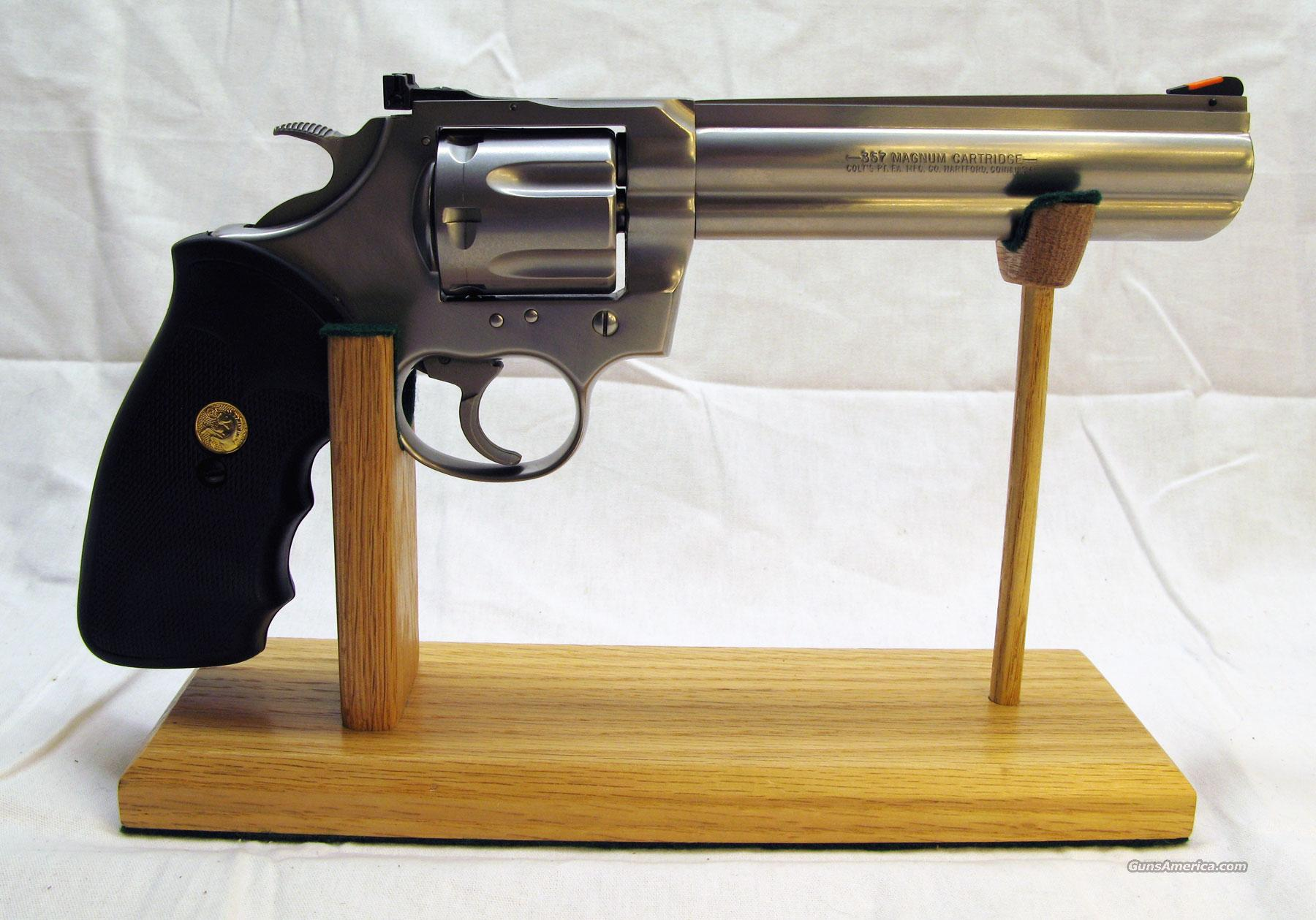 Colt King Cobra Stainless 6 Inch Exc Free Ship  Guns > Pistols > Colt Double Action Revolvers- Modern