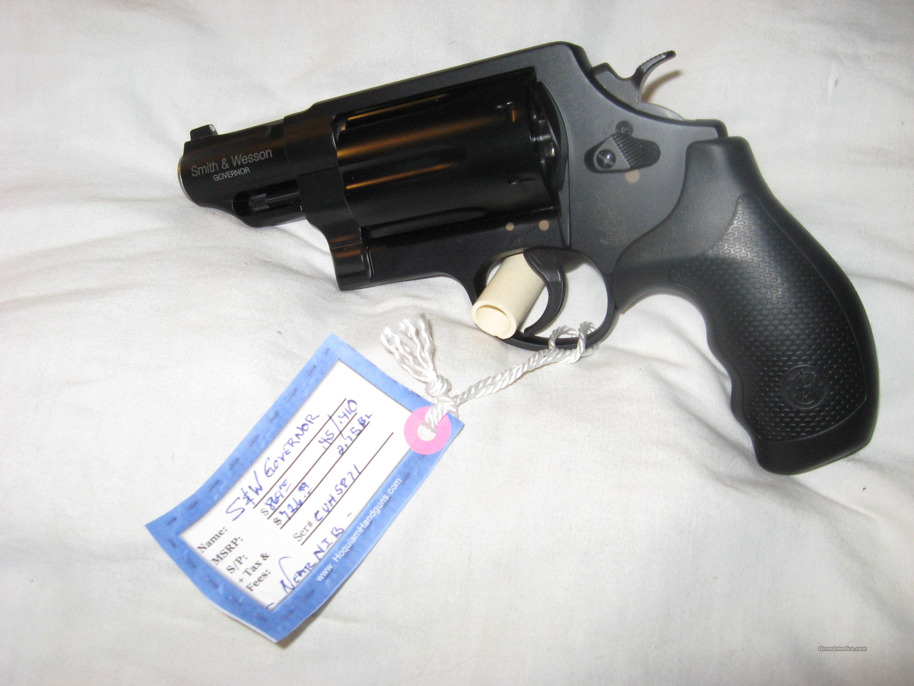 Smith & Wesson Governor  Guns > Pistols > Smith & Wesson Revolvers > Pocket Pistols