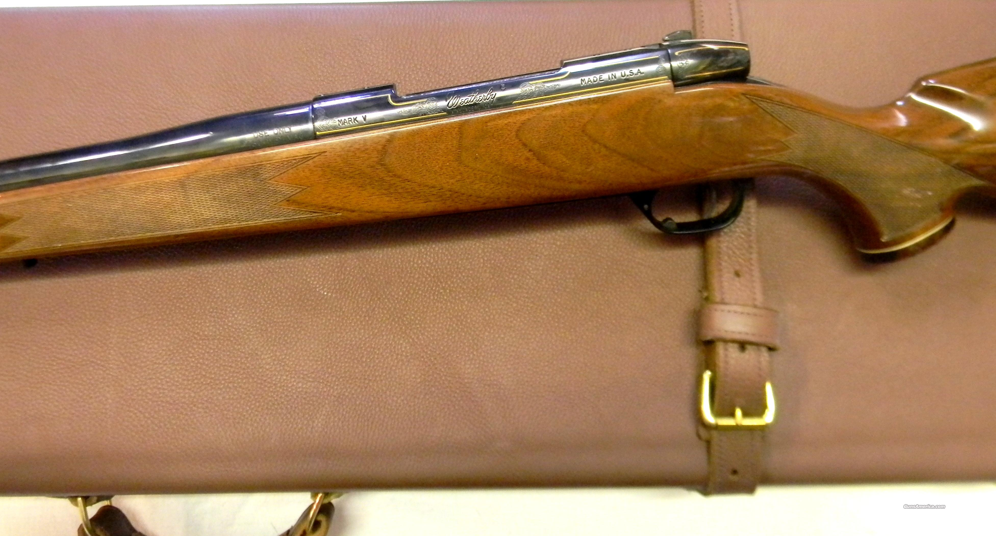 Weatherby Mark V 460WBY  Guns > Rifles > Weatherby Rifles > Sporting