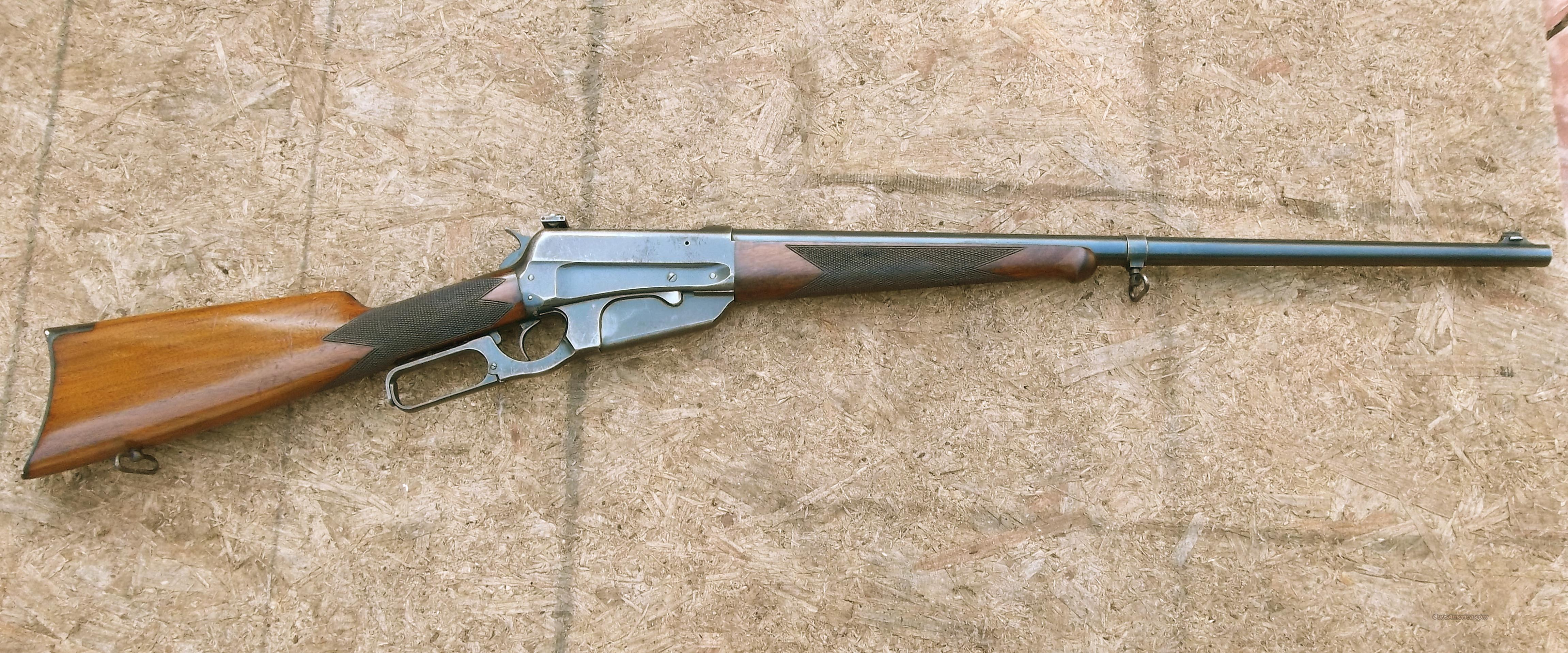 1895 WINCHESTER 405 DELUXE  Guns > Rifles > Winchester Rifles - Modern Lever > Other Lever > Pre-64