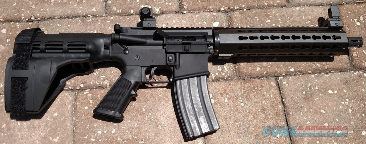 "AR Style Pistol In 300 Blackout 10.5"" Barrel Si... For Sale"